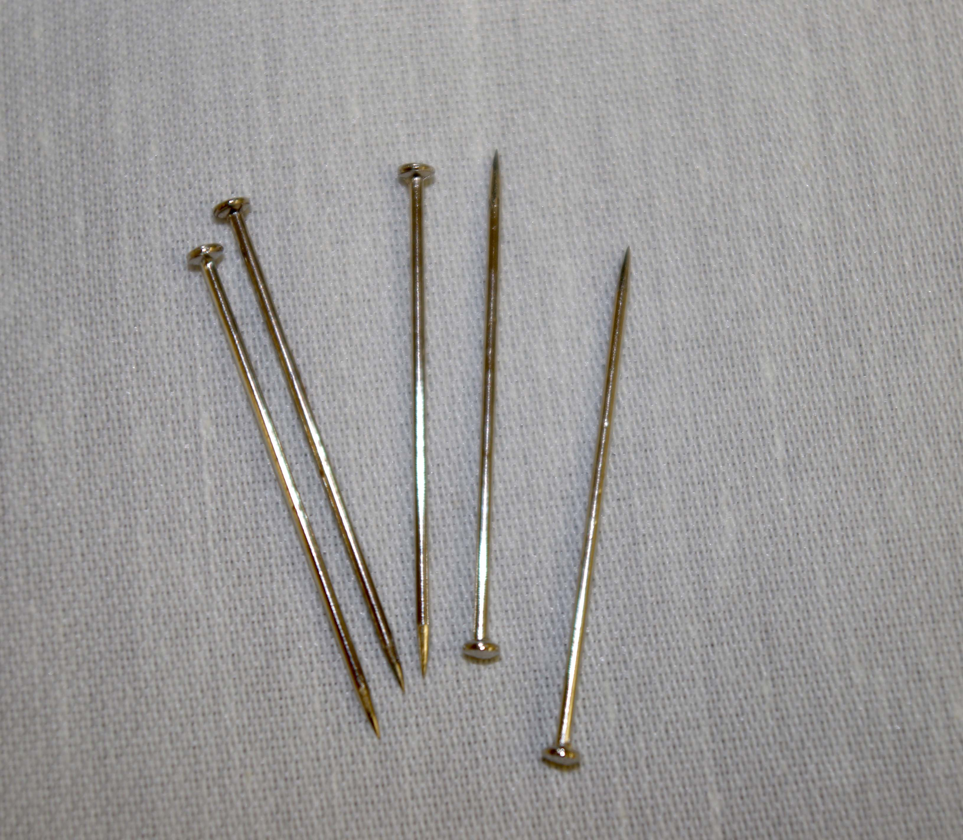 Can You Iron Glass Head Pins