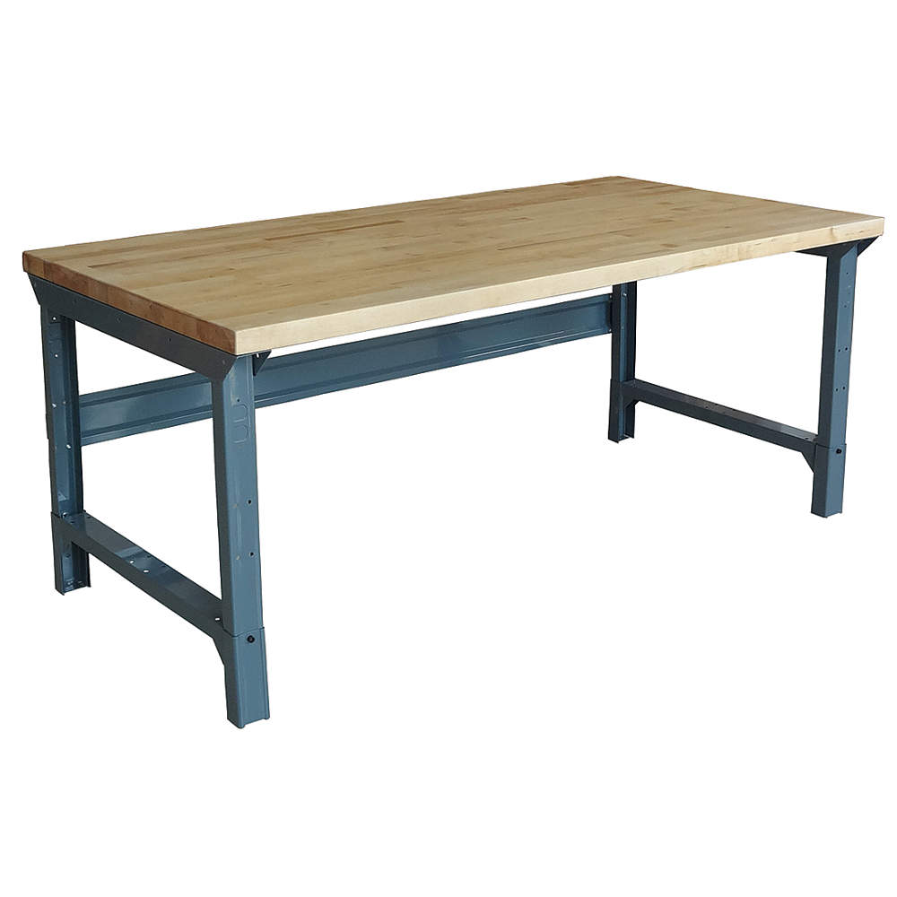 Solid Maple Top Work Table 72u2033 X 30u2033